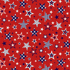 American Style    Red     Large Stars
