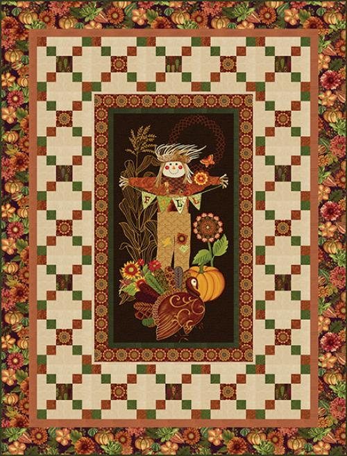 Fall Festival Quilt 1 -  FREE PATTERN