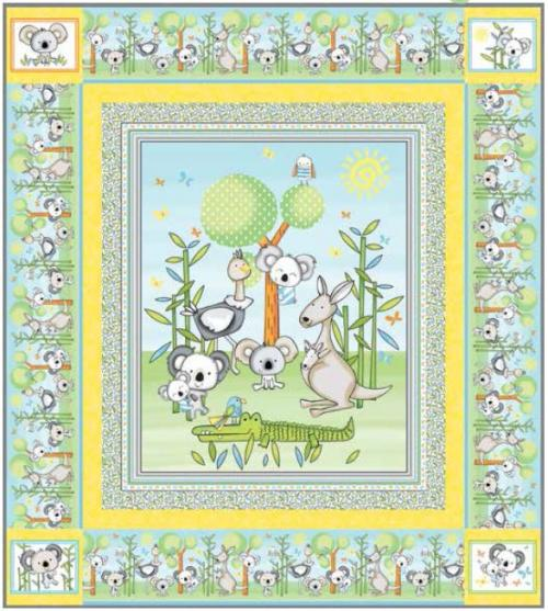 Koala Party - Quilt - FREE Download