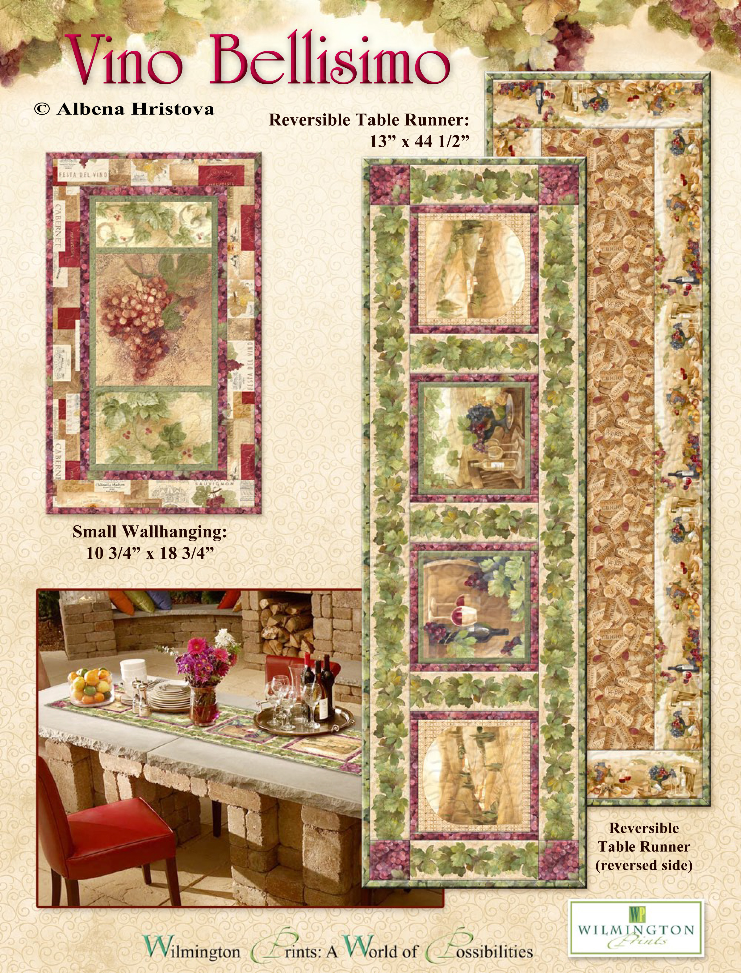 Reversible Table Runner Kit