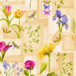 Tan Flower Patch