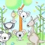 Koala Party by Swizzle Stick
