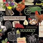 Farmers Market  Farmers Market    Black