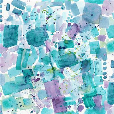 Sanibel   Watercolor Splash        Multi
